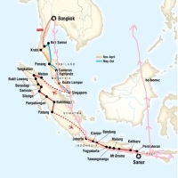 My South East Asia Travel Route!