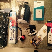 Travel Packing - bits and bobs